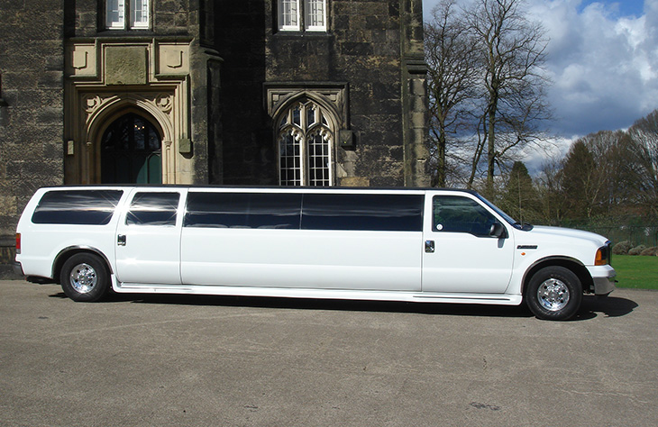 Ford Excursion Limo near me