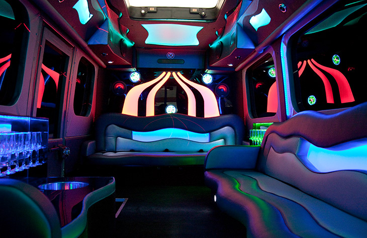 Party Limo Bus