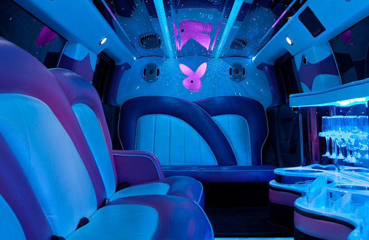 Local Pink Limousine Hire