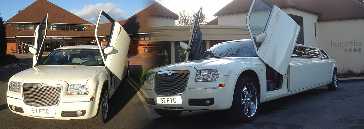 Limo hire Solihull, Party Bus, Hummers & Wedding Cars