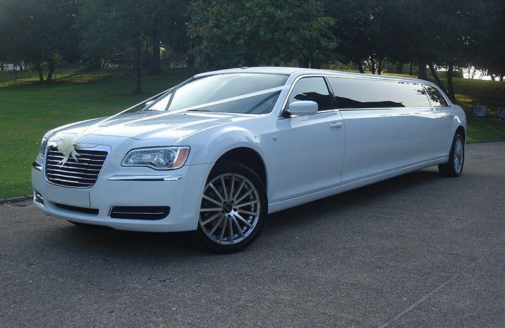 Chrysler 300c Stretch Limo Hire Birmingham