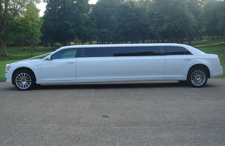 Local Chrysler 300c Stretch Limo Hire
