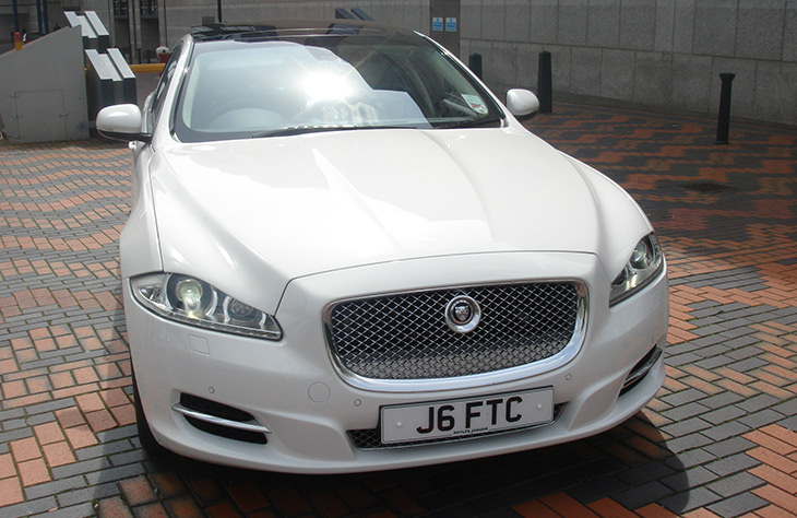 Jaguar XJ LWB White Monmore Green, Stow Heath, Moseley Village, Portobello