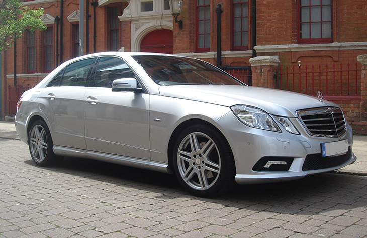 Mercedes E Class Monmore Green, Stow Heath, Moseley Village, Portobello